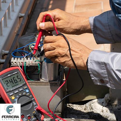 Manutenção portão eletrônico basculante