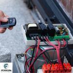 Instalação de motor de portão eletronico